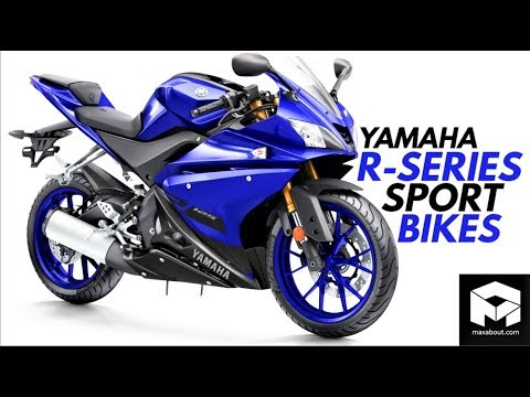 Download Yamaha R-Series Bikes [2018] [R50-R1M] HD Mp4 3GP Video and MP3