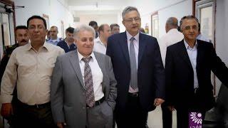 المحافظ ومدراء الاجهزة الامنية يقدمون الشكر لمجلس بلدي طولكرم