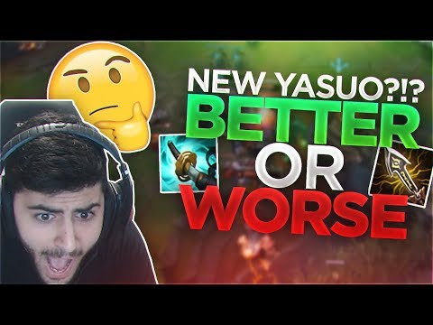 Yassuo | NEW YASUO?!? BETTER OR WORSE??