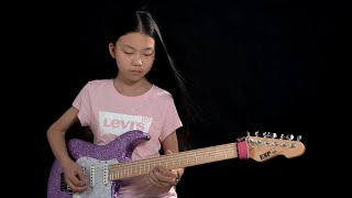Rock guitar goddess – YO YO (PinXi Liu) plays Glasgow Kiss …