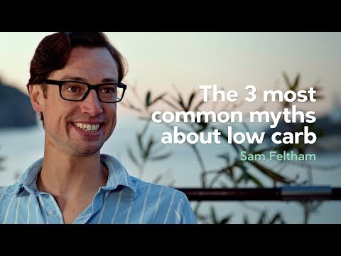 Low carb diet - The three most common myths about low carb