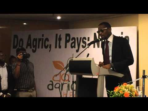 "Koko Farmer D'banj @IamDbanj Launches Koko Garri At @ONEcampaign 's ""Do Agric"" Event In #Nigeria"