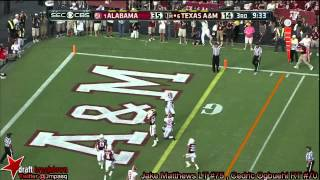 Jake Matthews vs Alabama (2013)