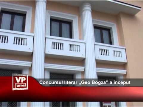 "Concursul literar ""Geo Bogza"" a început"