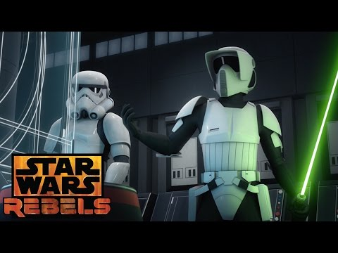 Fulcrum Revealed | Star Wars Rebels | Disney XD