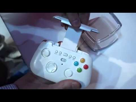 Samsung Prototype Wireless Game Pad hands-on _ Engadget