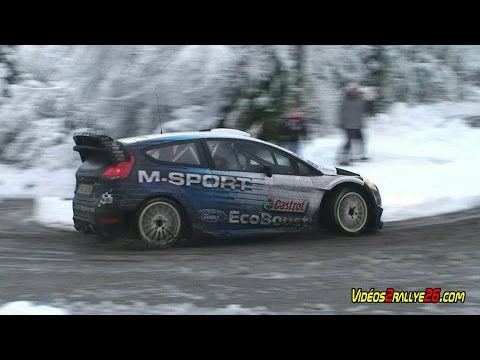 Vídeo test previos Bertelli Ford Fiesta WRC Monte Carlo 2015