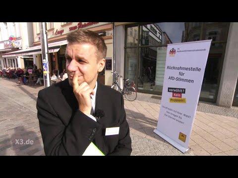 Schlegl in Aktion: Rückgabestelle für AfD-Stimmen | extra 3 | NDR (видео)