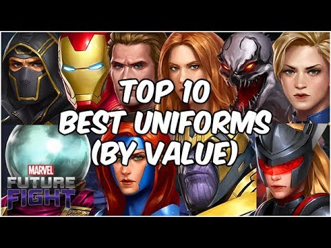 Sale Ending Soon! TOP 10 UNIFORMS (VALUE EDITION) JULY 2019 - Marvel Future Fight