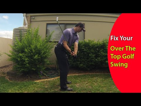 How to Fix the Over the Top Golf Swing in Just 60 Seconds