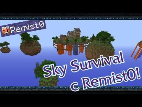 СТРАШНЫЙ ПОДВАЛ! Minecraft. Sky Survival.