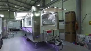 Mobile food vending trailer where cooking and sale are available youtube