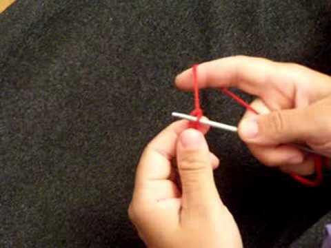 apprendre a tricoter premier rang