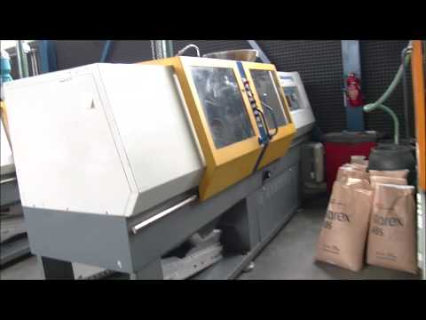 Plastics Injection Molding Machine BATTENFELD BA 750 CD PLUS 1991
