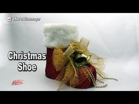 decorazione natalizia – stivale di babbo natale