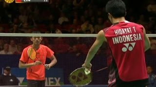 Video Lin Dan v T.Hidayat |MS- QF| Yonex All England Open Badminton Champ. 2012 MP3, 3GP, MP4, WEBM, AVI, FLV Mei 2018