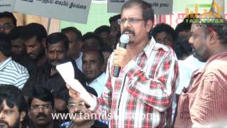 Kollywood Stars at Directors Union Protest Part 2