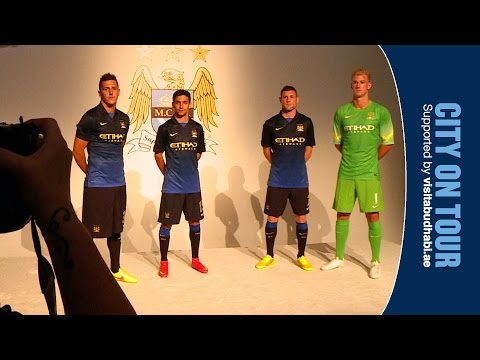Video: NEW AWAY KIT LAUNCH | Hart, Navas, Milner and Jovetic