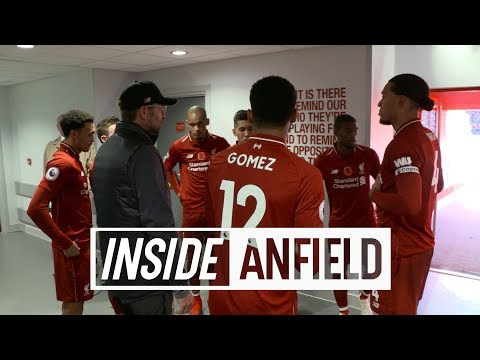 Video: Inside Anfield: Liverpool 2-0 Fulham | Exclusive tunnel cam from victory on Remembrance Sunday
