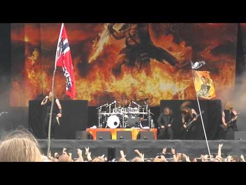 Amon Amarth - Guardians of Asgaard live @ Getaway Rock Festival '12 (Feat. LG Petrov)