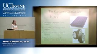 General Chemistry 1A. Lecture 18. Gas Laws, Part 1.
