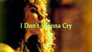 Mariah Carey-I Don't Wanna Cry(with Onscreen Lyrics)