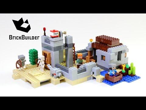 Vidéo LEGO Minecraft 21121 : L'avant-poste dans le désert