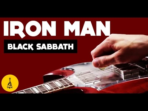 Easy Electric Guitar Songs For Beginners Iron Man | Iron Man Power Chords Tab