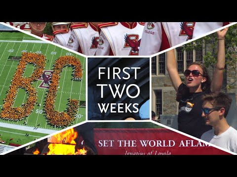two - Our first two weeks...and it's just the beginning. ***Remember to adjust the settings to 1080p*** Video Produced by Sean Casey Boston College.