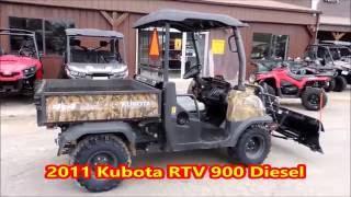 2. 2011 Kubota RTV 900 Diesel