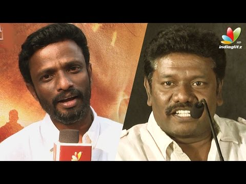 Pandiraj : Kathakali script made Hip Hop Tamizha unhappy | Karunas Speech at Kathakali Press Meet