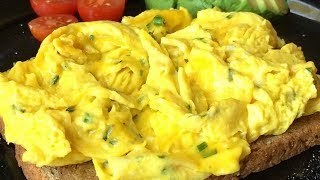 Scrambled Eggs Recipe- Quick&Easy How To BenjiManTV