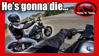 3. Rookie Rider on BRAND NEW Harley! - 2017 Harley Davidson Street Bob