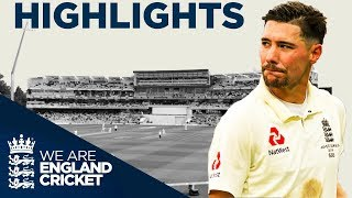 Burns Makes Maiden Test Century | The Ashes Day 2 Highlights | First Specsavers Ashes Test 2019