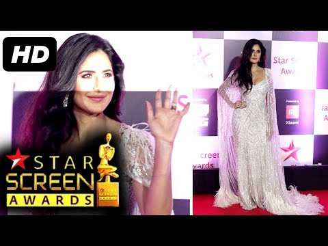 Zero Girl Katrina Kaif At Star Screen Awards 2018 |Red Carpet