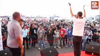 Would Ch3ab en live show au Grand Prix de Marrakech sur le podium HIT RADIO