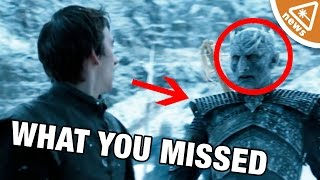 Game of Thrones busted out a season 6 trailer and it was FULL of details, which means you could easily miss things. Jessica...