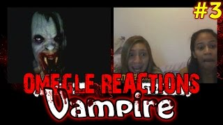 """New Scare Prank on Omegle! Scary Vampire on Omegle! New Prank with brand new reactions! Hope y'all like it!Keep stalking me: - https://twitter.com/TheAzGarot - https://www.facebook.com/TheAzGarot--------------------------------------------------This is another video of mine with a bunch of spontaneous, hilarious Omegle reactions. For all of you Omegle fans, check it out, feel free to comment and share, I am sure you will enjoy it. It's unbelievable how easy it is to scare people on video chats, I get a ton of angry, boring, funny, adult (read: masturbating! xD) reactions every day but I give you the very best of them in my prank videos.I am one of those Omegle junkies and I want to share my experience with you guys, I am sure that there are a lot of like minded people out there. Who knows, maybe your reaction is in one of my videos :)--------------------------------------------------For all of you who don't know what Omegle is, it is a website where you can meet and chat with random people from all around the world. Here is a link to the website: - http://www.omegle.com/Another website, pretty much the exact same thing as Omegle is Chatroulette. Here is a link: - http://chatroulette.com/--------------------------------------------------There is also a couple of Youtube videos and channels I would highly recommend you to see. If you are a Chatroulette or Omegle fan, I am positive that you will have a lot of fun with these: 1. This is a somewhat viral video of people getting scared on Chatroulette """"The last exorcism"""" style, a must see for online prank fans: - https://www.youtube.com/watch?v=CNSaurw6E_Q 2. Here is another video which is similar to what I do, basically a reactions video of people getting scared, the only difference is that Pinkstylist uses make up while I am using masks. I will also give you a link to his Youtube prank channel: - https://www.youtube.com/Pinkstylist - https://www.youtube.com/watch?v=AtTuC7c7EJs 3. Here is a video of a creepy old man who """