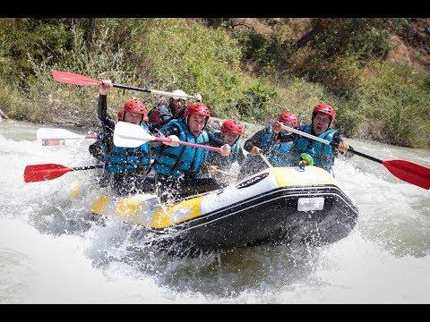 Alúa, Antequera. Rafting en el río Genil