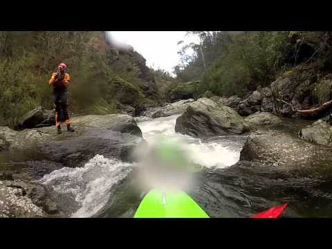 White Water Kayak, Jameison RIver Victoria Australia