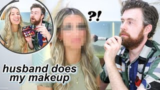 HUSBAND DOES MY MAKEUP... wow.  | leighannsays by Leigh Ann Says