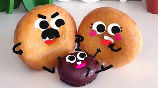 Cute Food Doodles Compilation 🍩🍩 #05