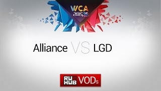 Alliance vs LGD.cn, game 2