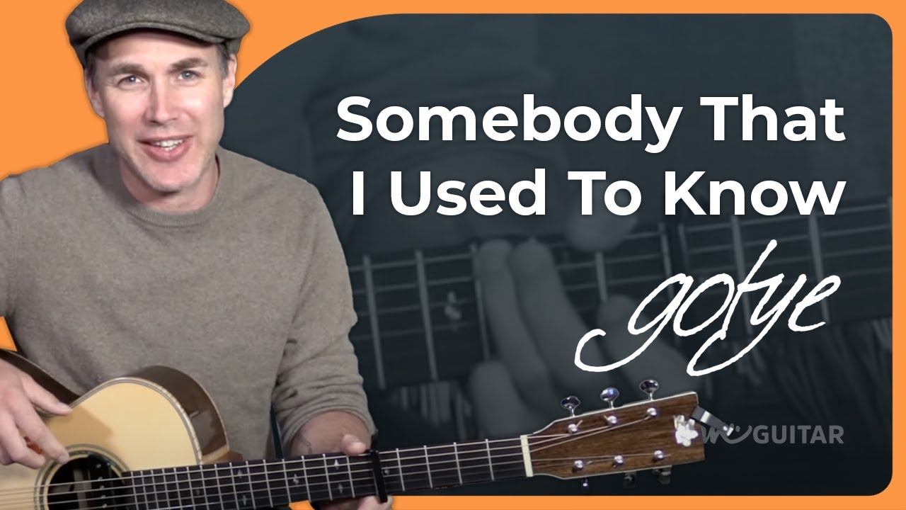 Gotye – Somebody That I Used To Know Guitar Lesson BEGINNER Tutorial Acoustic easy