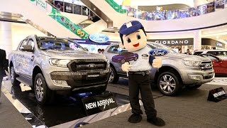 Ford 2017 Display at AEON Mall Phnom Penh