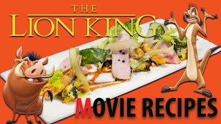 Movie Recipes - The Lion King