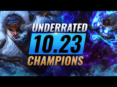 10 INCREDIBLY Underrated Champions YOU SHOULD ABUSE in Patch 10.23 - League of Legends Preseason 11