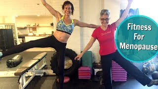 """Have you ever heard of a Menopause Fitness Specialist? Imagine having a personal trainer who knows all about your unique needs as a menopausal woman.  It's not uncommon for a woman to need a trainer for the very first time in her life at the time of menopause. """"The change"""" is just that. It's a time when your body changes in many ways. And working out in traditional ways, with a traditional trainer, may not produce the best results. In this video, I'll introduce you to Shana Ross of Shana Ross Fitness. She'll talk about both diet and exercise as critical components of your adaptation to your menopausal life.Contact information for Shana Ross Fitness: Shana Ross Fitness629 W 22nd St. Unit 1 Houston, Texas  77098 Phone: 713 861 7272 Fax: 713 861 7290 shana@shanarossfitness.comVisit my website: https://menopausetaylor.me/Click here to print the worksheet: http://bit.ly/2bgQ2WqClick here to find the outline notes: http://bit.ly/2aIaWLZWatch every Menopause Taylor episode from the beginning: https://www.youtube.com/playlist?list=PLOUBdLFwUtyYimWltwfsEQneVYjIaMQH-Check out my book, Menopause: Your Management Your Way ... Now and for the Rest of Your Life: https://www.amazon.com/Menopause-Your-Management-Rest-Life/dp/143920795X?ie=UTF8&keywords=menopause%20barbie&qid=1461746042&ref_=sr_1_1&sr=8-1Connect with me on social media:Facebook: https://www.facebook.com/Menopause-Barbie-356641841173232/Twitter: https://twitter.com/BarbieTaylorMDInstagram: https://www.instagram.com/menopausebarbie/"""