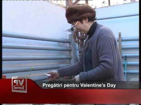 Pregătiri pentru Valentine's Day
