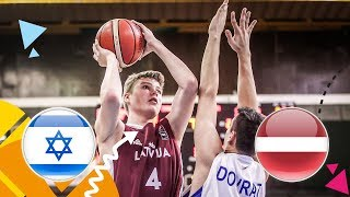Download Lagu Israel v Latvia - Full Game - Round of 16 - FIBA U16 European Championship 2018 Mp3